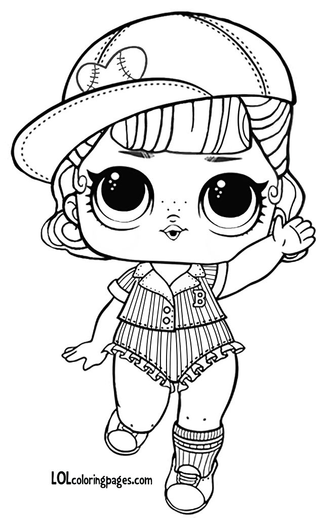 short stop series 3 wave 2 lol surprise doll coloring page