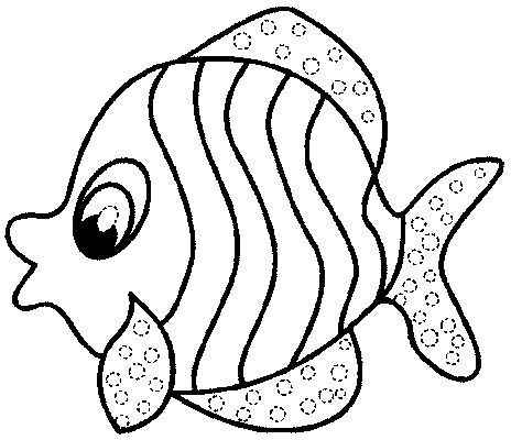simple fish drawing clipartsco simple fish coloring pages