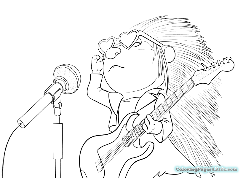 sing coloring pages coloring pages for kids