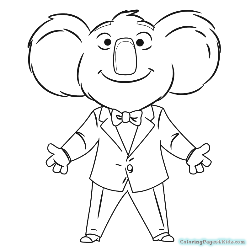 sing coloring pages free printable coloring pages