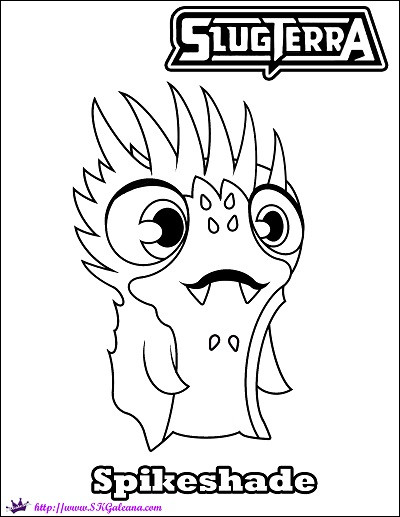 slugterra coloring book beautiful images free coloring page