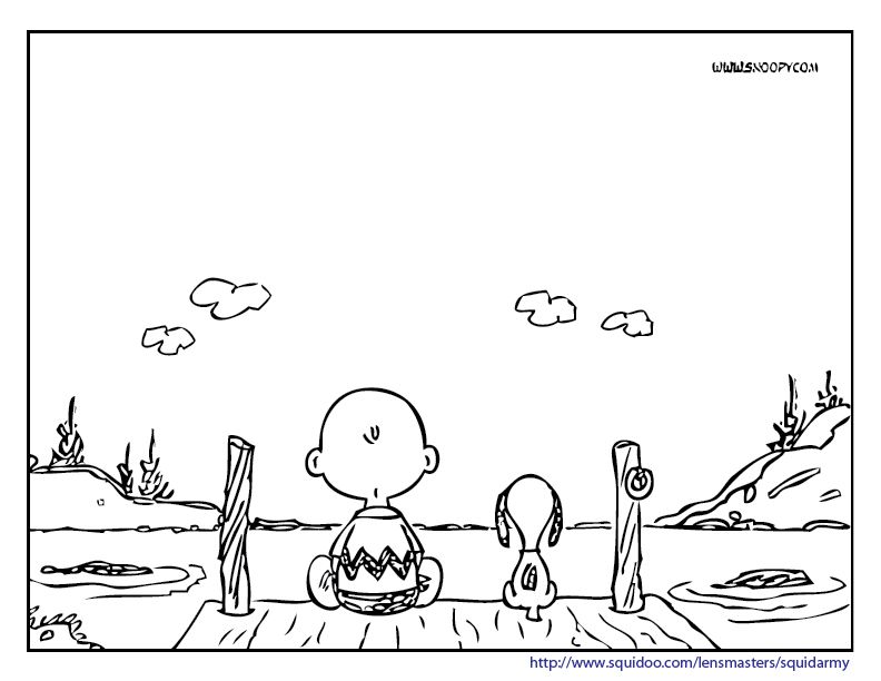 snoopy and charlie brown coloring pages smilecoloring