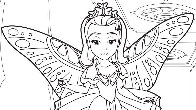 sofia the first coloring pages pdf at getdrawings free