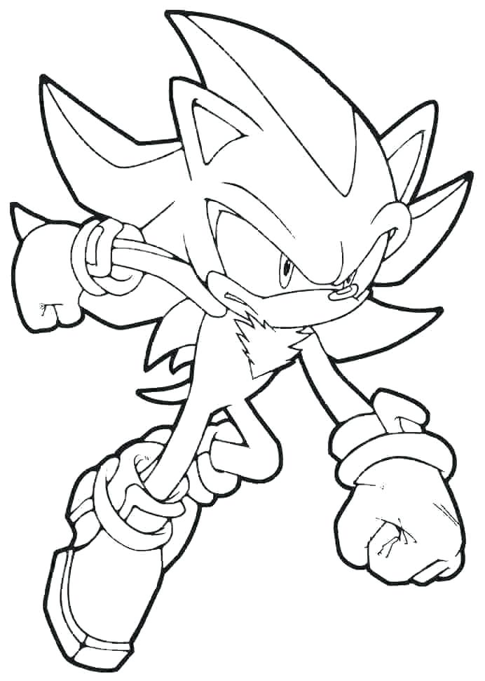 sonic color page free super coloring pages hedgehog