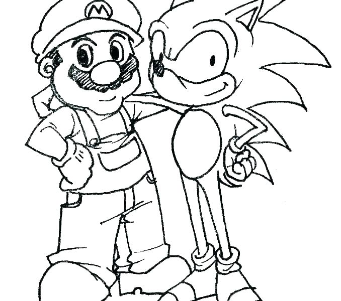 sonic the hedgehog coloring pages dopravnisystem
