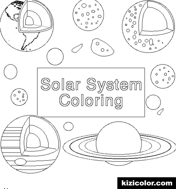 space 8 kizi free coloring pages for children