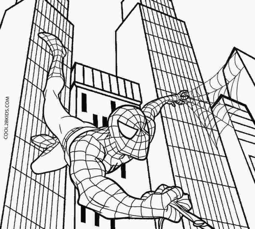spectacular spiderman coloring pages black spider man 3