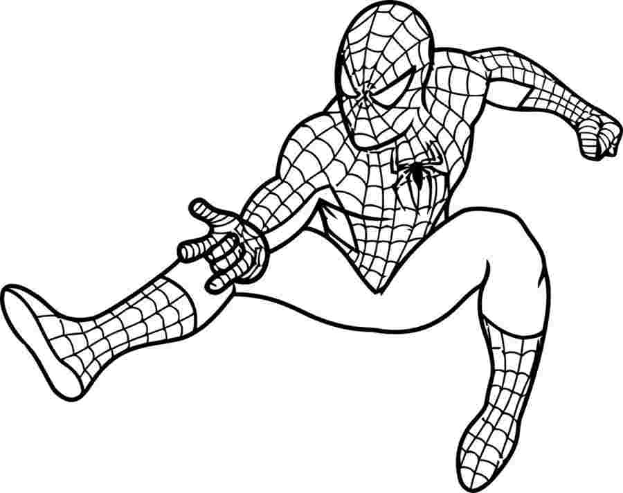 spiderman coloring pages for toddlers free printable