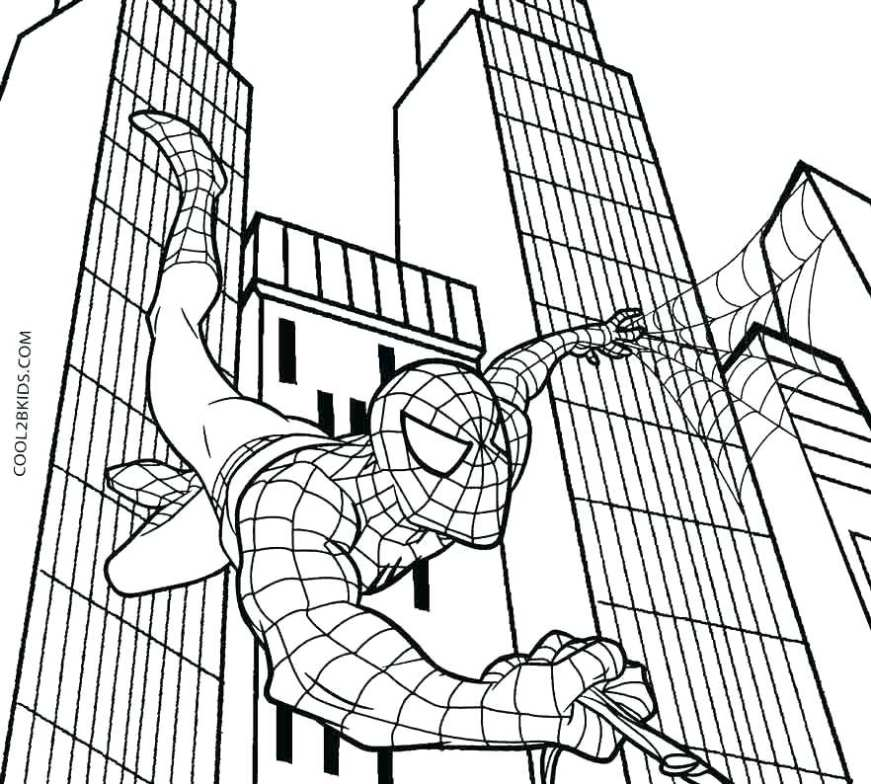 spiderman coloring pages games at getdrawings free for