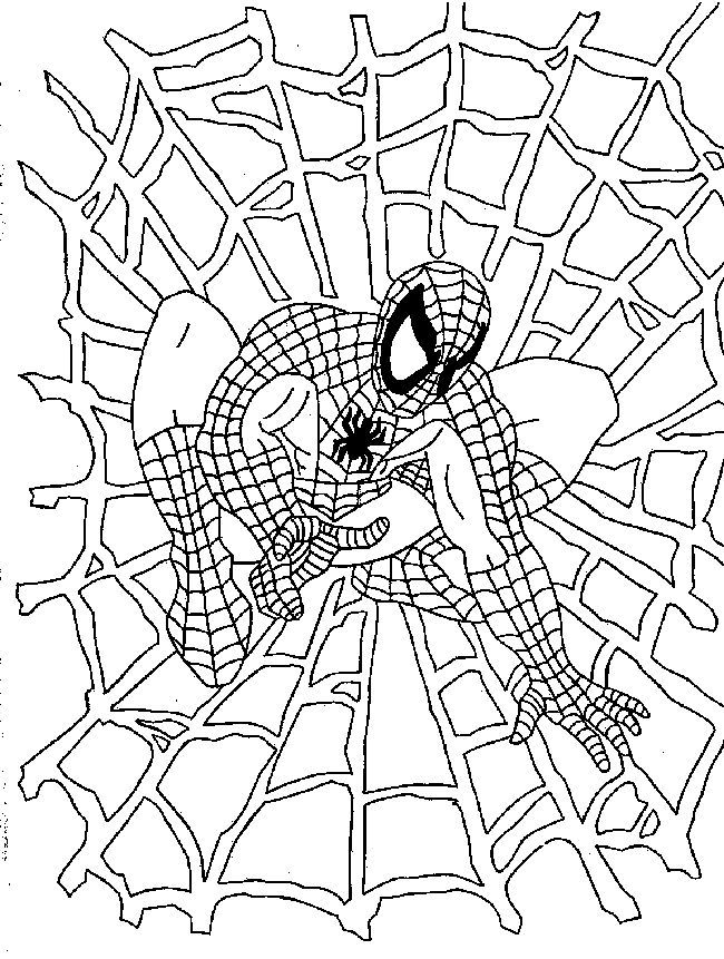 spiderman pictures to print and color spiderman coloring