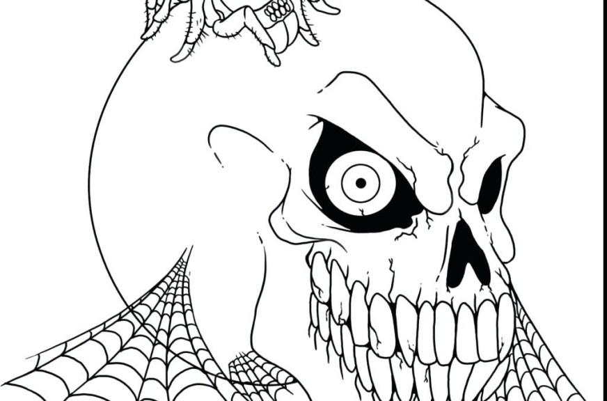 spooky halloween coloring pages printable john corabi
