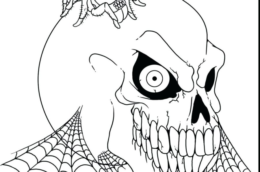 spooky halloween coloring pages printable john corabi