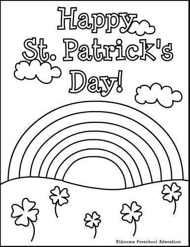 st patricks day coloring st patricks day ausmalbilder