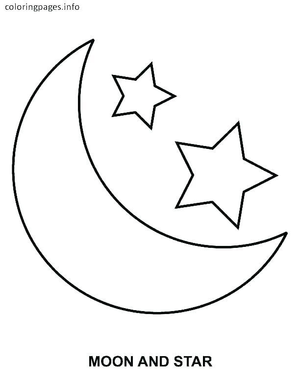 star coloring padges