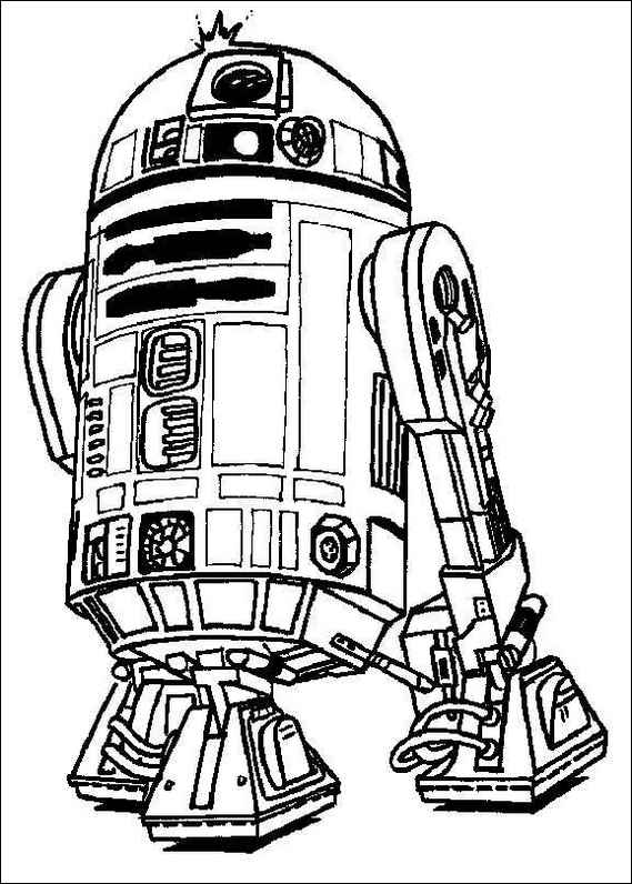 star wars 133 coloring page