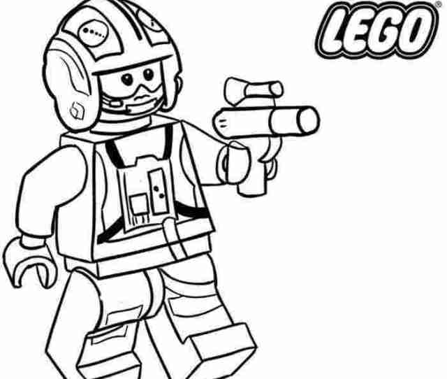 Lego Star Wars Coloring Pages Pictures Whitesbelfast