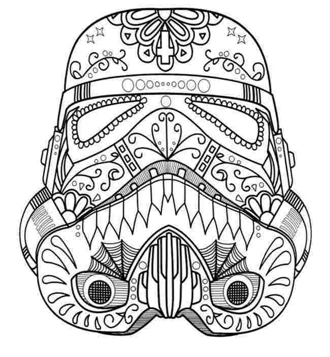 star wars sugar skull coloring pages 42 best images about