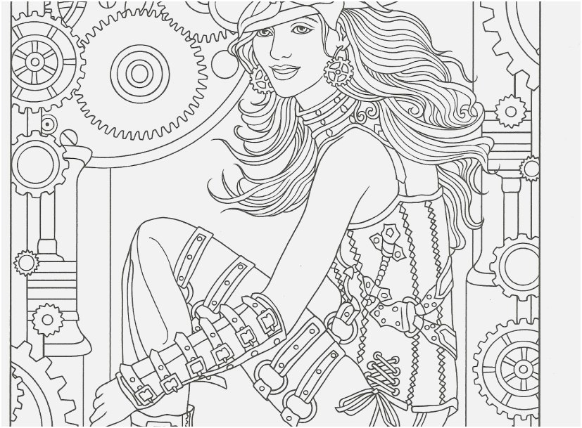 steampunk coloring pages view adult coloring page from