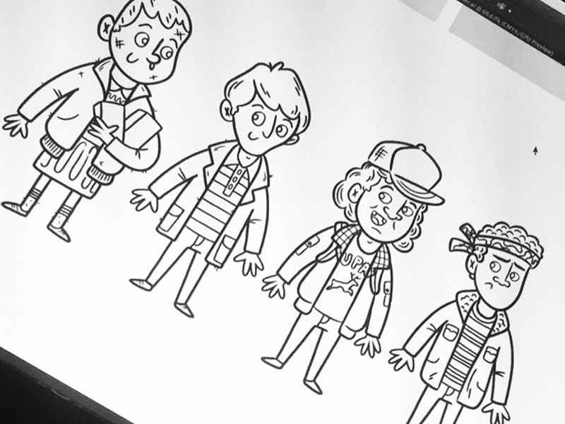 stranger things coloring pages cartoon download fun for kids