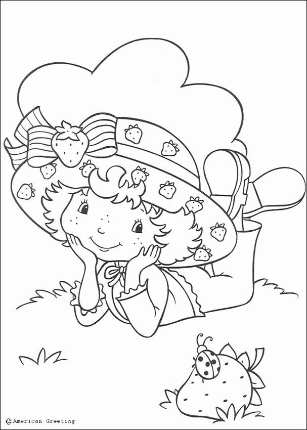 strawberry shortcake coloring book fresh transmissionpress