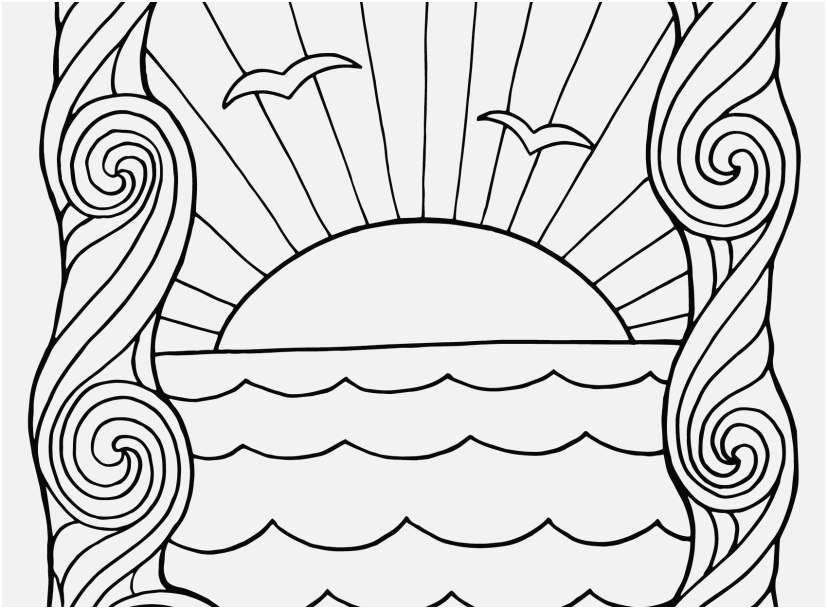 sunset coloring pages photo sunset coloring pages awesome