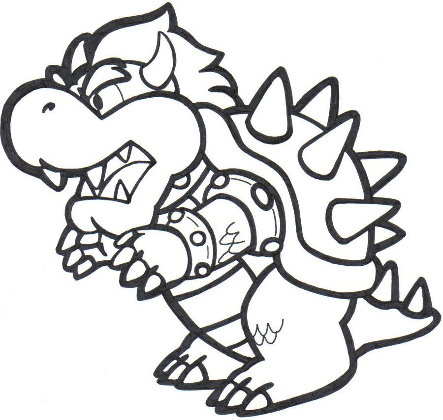 super mario bowser coloring pages 2019 open coloring pages