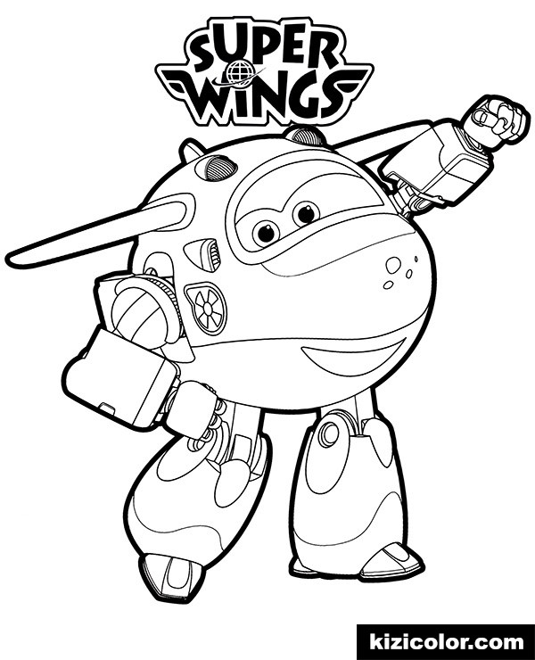 super wings mira free printable coloring pages for girls and