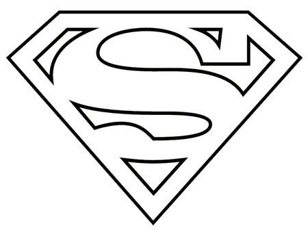 superman logo coloring pages nanny cakes superhero logo