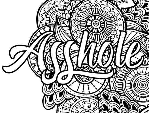 swear words coloring pages free adult humor coloring pages f