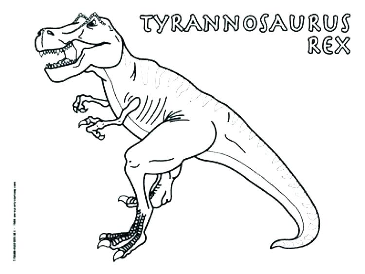 t rex coloring page unailspro