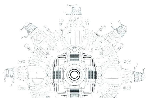 tardis coloring pages colouring free page new doctor who in