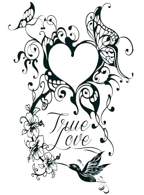 - Tattoo Coloring Pages Picture - Whitesbelfast