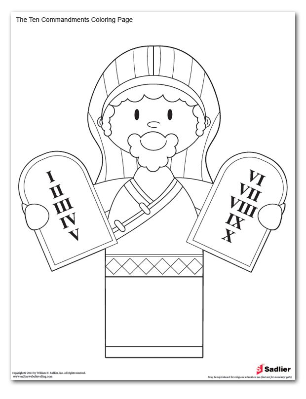 ten commandments colouring pages page 2 coloring pages