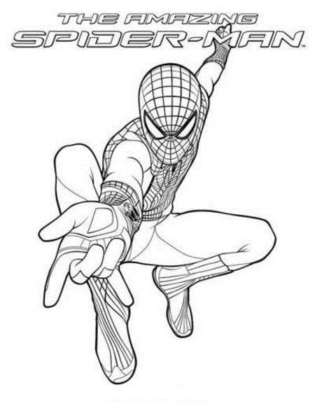 the amazing spider man coloring sheets amazing spider man
