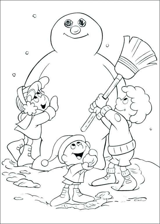 the best free frosty coloring page images download from 271