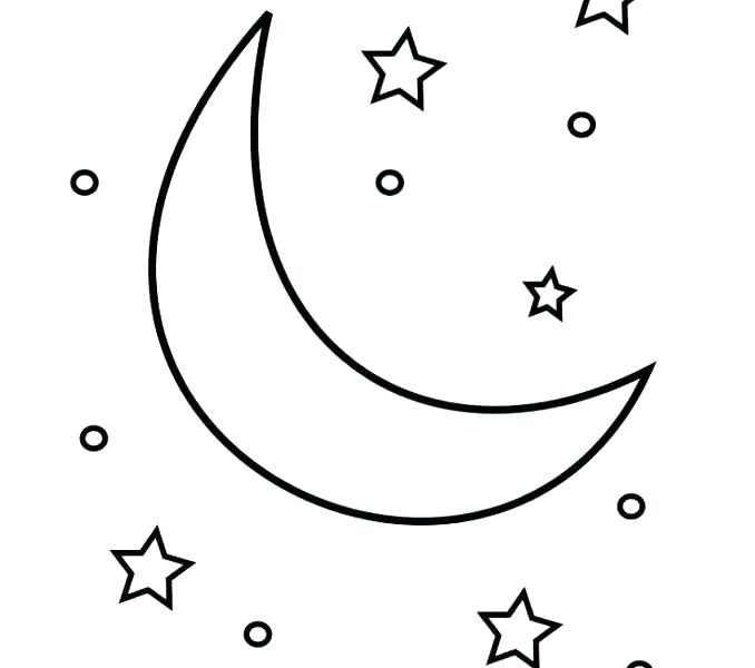 the best free moon coloring page images download from 1633