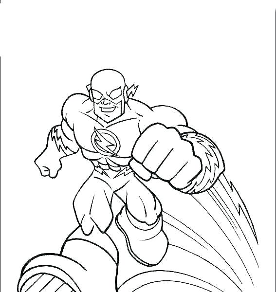 the flash coloring page pages online autosteklapro
