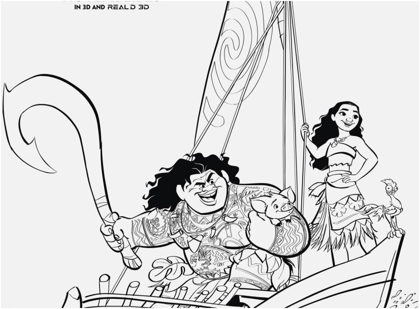 the ideal design moana coloring pages top yonjamedia