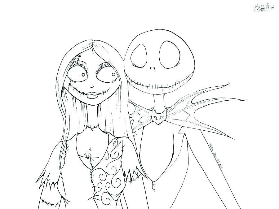 the nightmare before christmas coloring pages bookssetin