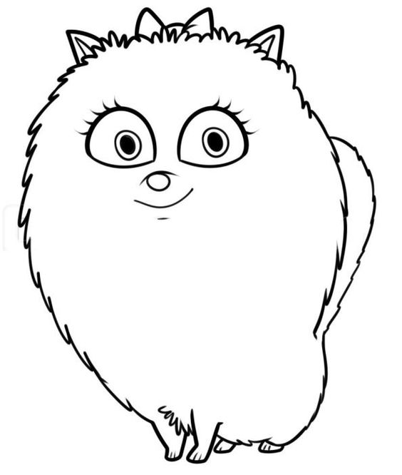 the secret life of pets coloring page clip art library