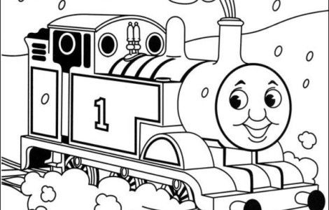thomas the train coloring coloring pages download free