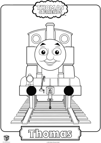 thomas the train coloring page free printable coloring pages