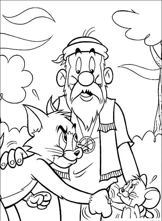 tom and jerry coloring pages coloring pages to print