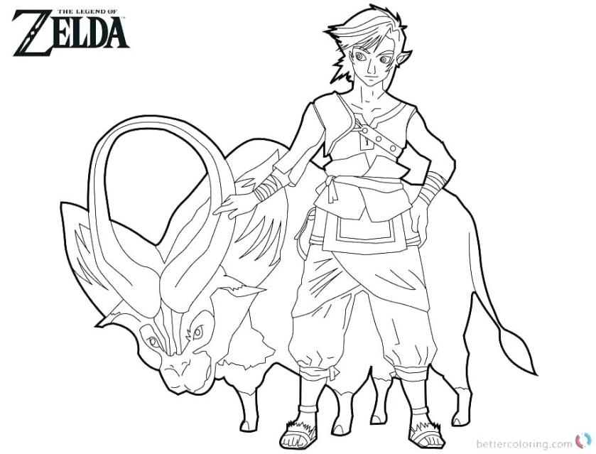 toon link printable coloring pages superfresco