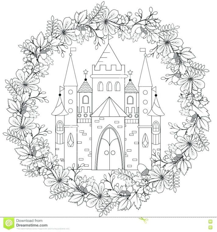 top 61 marvelous princess castle coloring pages page royal