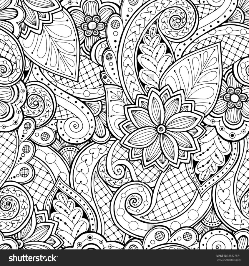 top coloring pages adult coloring patterns flowers at
