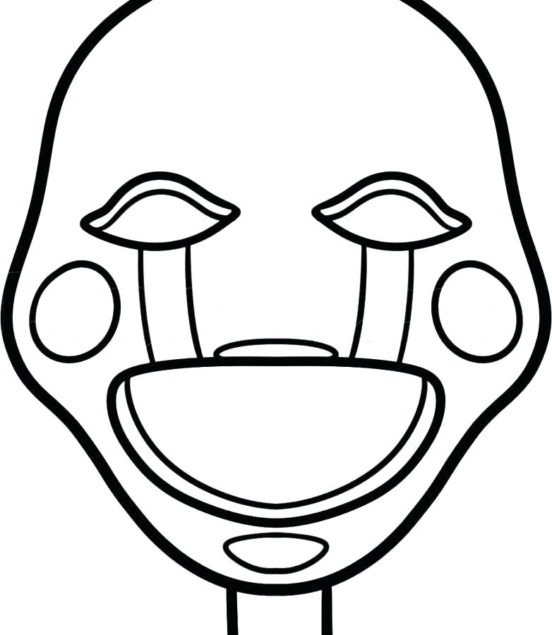 top five nights at freddys printable coloring pages