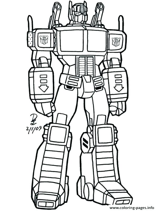 - Transformer Coloring Pages Picture - Whitesbelfast