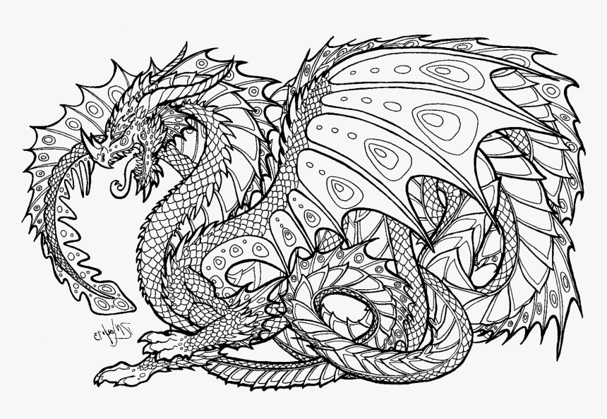 transparent pages png hard coloring pages of dragons png