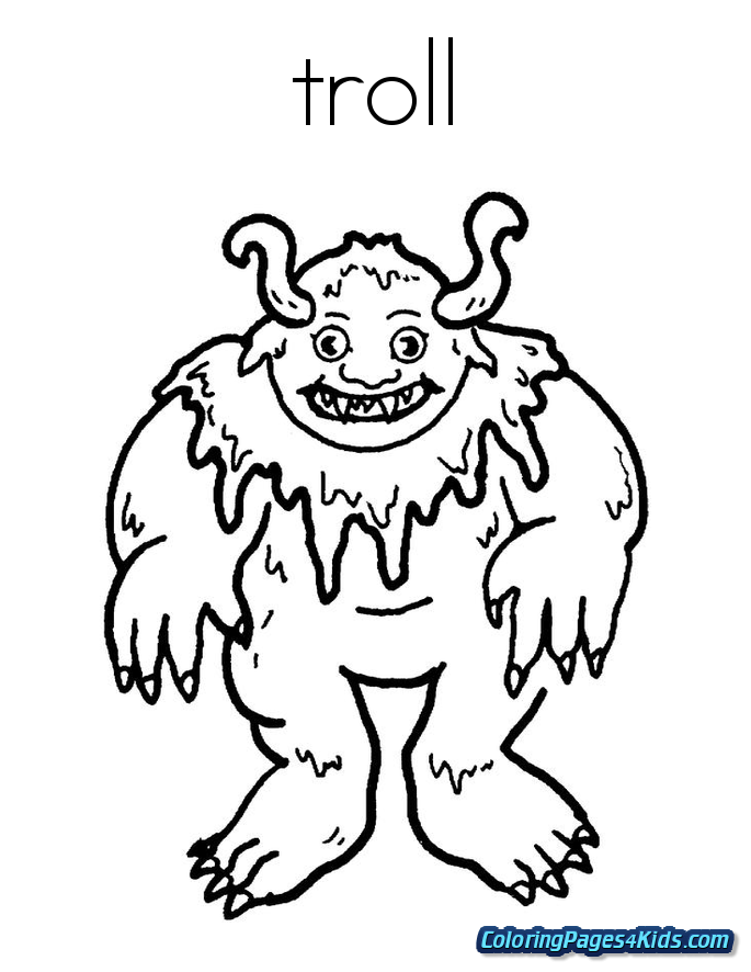 trolls coloring pages free printable coloring pages